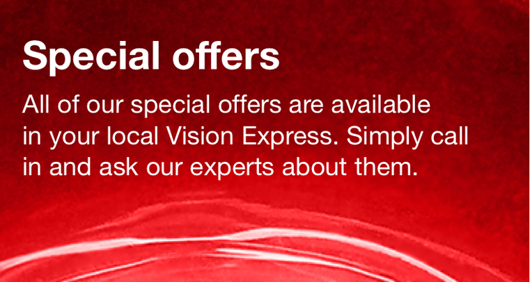 Special offers from Vision Express